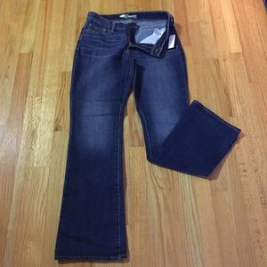 Old Navy jeans, Dreamer, dark wash, bootcut, 8 NWT